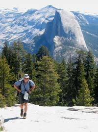 Half Dome from Sentinel Dome, Yosemite National Park